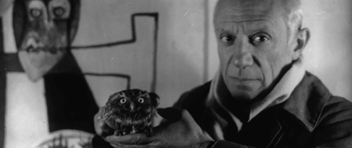 Modernism + Film: Picasso and Sima, Antibes 1946