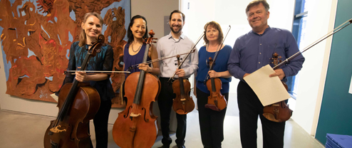 Music and Museum: The Bechtler Ensemble | String Trios