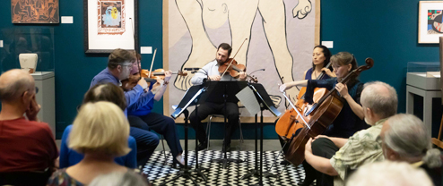 Music and Museum: The Bechtler Ensemble | String Quartet with Sol Lewitt