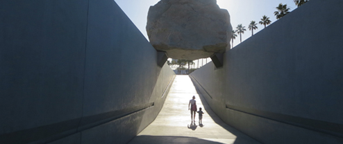 Modernism + Film: Levitated Mass